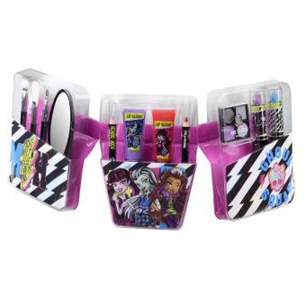 Monster High Игровой набор детской декоративной косметики с поясом визажиста