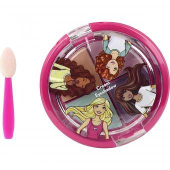 Barbie Игровой набор детской декоративной косметики для глаз