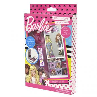 Barbie Игровой набор детской декоративной косметики для губ