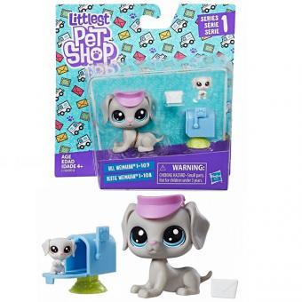 Littlest Pet Shop Набор из двух зверюшек, в ассортименте собака