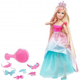 Barbie Большая кукла блондинка с длинными волосами, 43 см