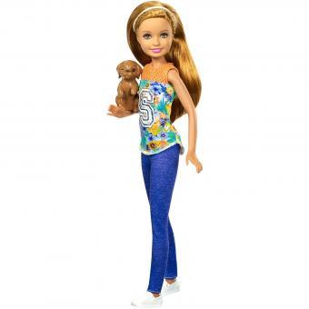 Кукла Барби В погоне за щенками Стейси с питомцем