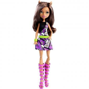 Кукла Monster High Главные персонажи, Clawdeen Wolf Клауди Вульф