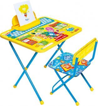 Комплект Фикси Азбука Стол+стул мягкий