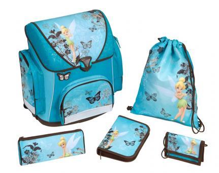 Набор школьный Fairies Ранец + пенал + мешок для обуви + кошелек