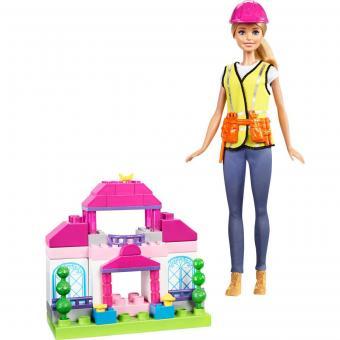 Конструктор Barbie Barbie Игровой набор Строитель