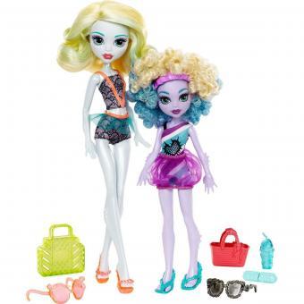Набор из 2 кукол Монстер Хай: Семья монстриков, Лагуна и Келпи Блю