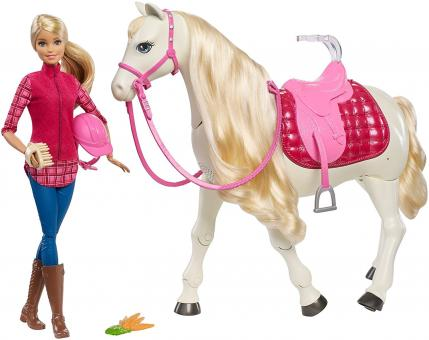 Barbie Кукла и лошадь мечты