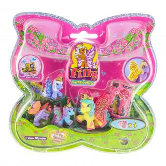 Набор игровой Filly Бабочки с блестками Волшебная семья