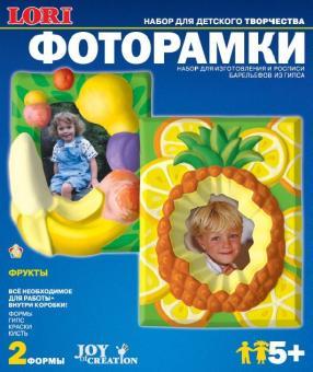Lori Изготовление и роспись гипсовых картинок Фоторамки фрукты