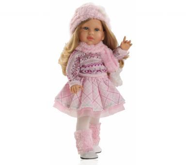 Кукла Одри в розовом, 40 см