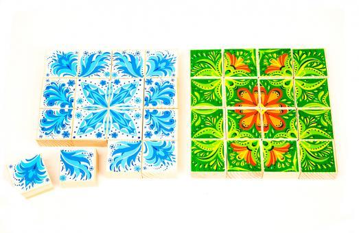 Пазл-кубики Зима/Лето