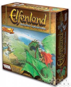 Настольная игра  Elfenland.Волшебное путешествие
