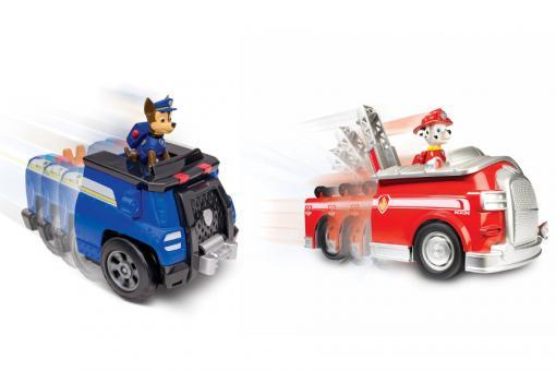 Paw Patrol Большой автомобиль спасателей со звуком