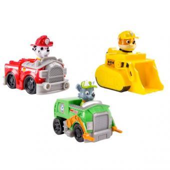 Paw Patrol Набор из 3 маленьких машинок