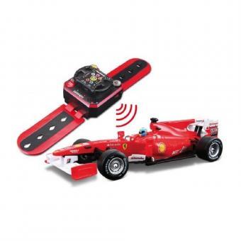 Автомобиль Ferrari F10 с часами дистанционного управления 1:32