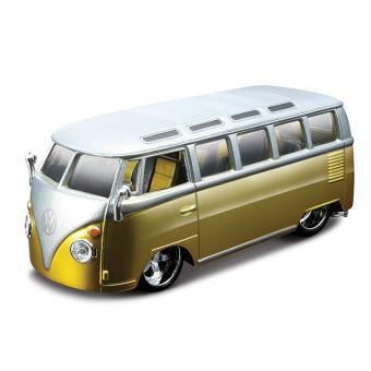 Машина VOLKSWAGEN Автобус 'SAMBA металл. 1:32