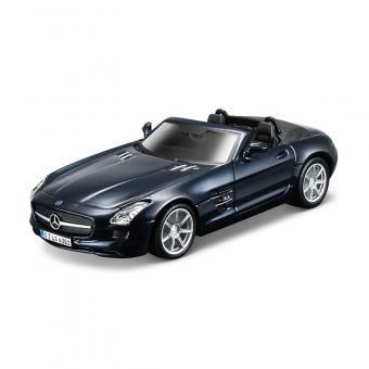 Машина СБОРКА MERCEDES-BENZ SLS AMG Roadster металл. 1:32