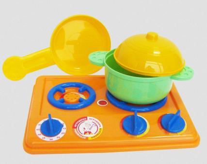Набор посуды с плитой