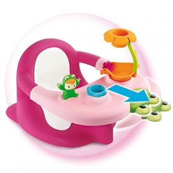 Стульчик для купания, розовый