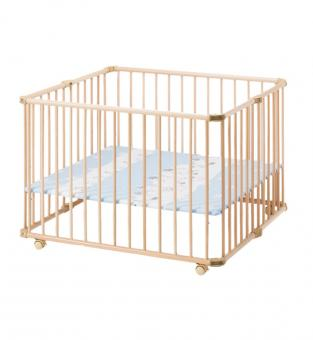 Детская кроватка-манеж Lucilee натуральная