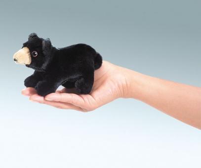 Мягкая игрушка на руку Медведь мини, 18 см
