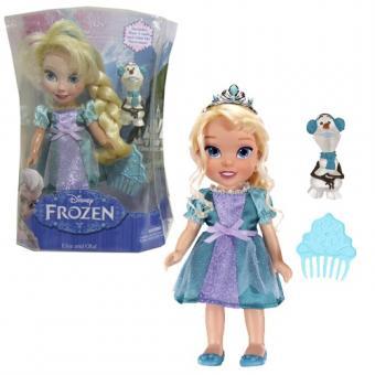 Кукла Холодное Сердце  Принцессы Дисней с Олафом 15 см