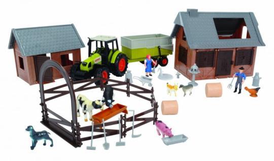 Ферма с трактором