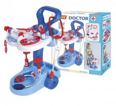 Медицинская тележка с инструментами