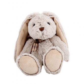 Мягкая игрушка Сидячий зайка, 22 см