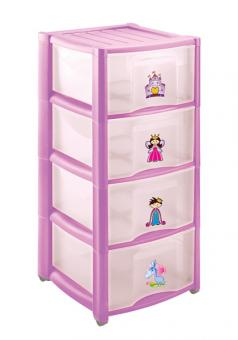 Комод для игрушек с 4 ящиками