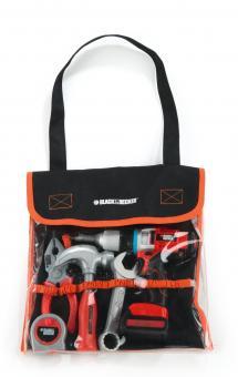 Набор инструментов в сумке B&D + дрель