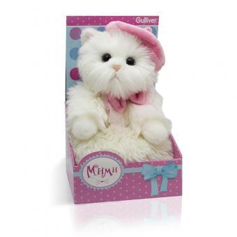 Мягкая игрушка Кошечка Мими в беретике, 24 см