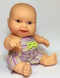 Одежда летняя для кукол-пупсов, мальчиков 22 см
