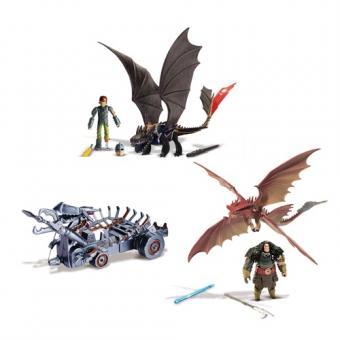 Как приручить дракона Dragons Игровой набор Битва на Драконовой горе