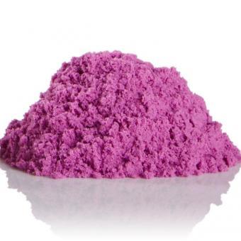 Космический песок 3 кг. с песочницей и формочками розовый