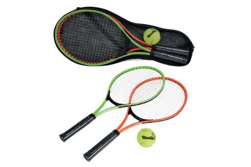 Набор для игры в теннис: 2 алюм. ракетки 52 см, 1 мяч, чехол