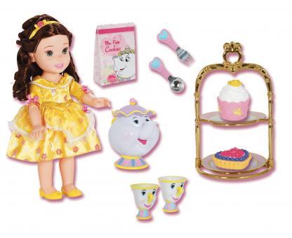 Набор кукла малышка принцесса Дисней на пикнике - Белль
