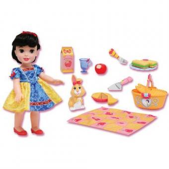 Набор кукла малышка принцесса Дисней на пикнике - Белоснежка
