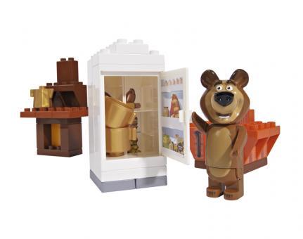 Конструктор Маша и Медведь, Кухня Мишки, 35 дет