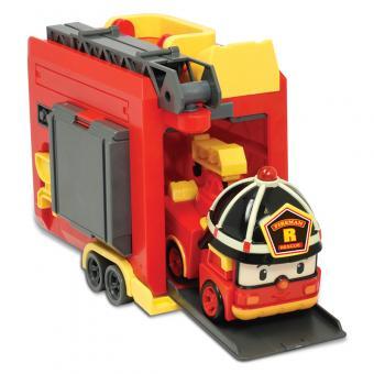 Кейс - гараж с трансформером Рой 12,5 см