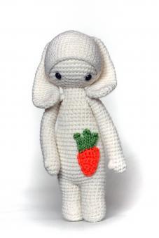 Мягкая игрушка Крошка-зайчик, 25 см