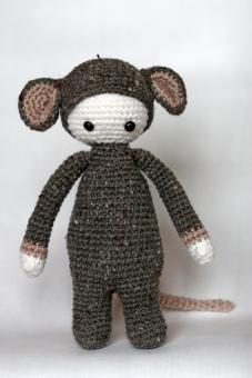 Мягкая игрушка Крошка-мышка, 25 см