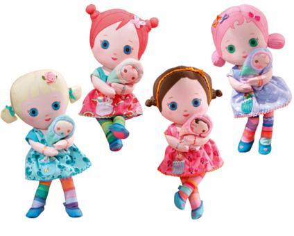 Mooshka Кукла 24 см, 4 вида