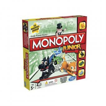 Монополия для детей Моя первая монополия