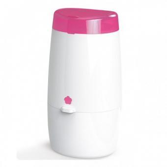 Накопитель подгузников Angelcare Mini розовый