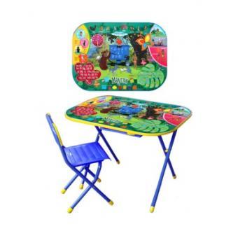 Набор мебели Дошкольник    Маугли (синий)