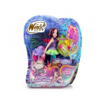 Кукла WINX CLUB Сиреникс-3. Магия цвета, Текна