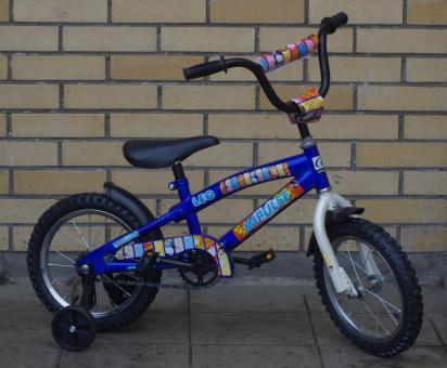 """Велосипед детский IMPULSE 14"""" синий"""