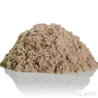 Космический песок 1,5 кг с песочницей и формочками классический